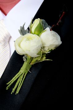 Floral wedding boutonniere!  Accent Flowers & Gifts in Waterford, MI is the BEST florist in Oakland county for SO many reasons!  Call (248) 461-6941 or visit our website www.aaflowershop.com to see what we are all about and to place your order!