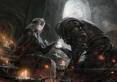 Konachan.com - 234403 alcd dark_souls fire_keeper.jpg (2481×1754)