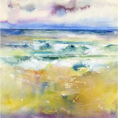 Making Waves Print By Sheila Gill. | Greetings Cards | Prints | Gift Wrap