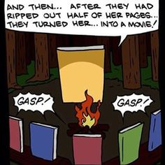 This very ~scary~ story: | 19 Hilarious Jokes All Book Nerds Will Appreciate