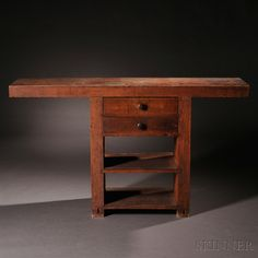 Shaker Carpenter's Workbench, 19th century - Andrews Collection