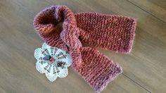 Hand Knit Textured Winter Warmer Scarf | SewKlassic - Accessories on ArtFire
