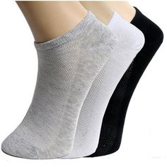 (10 Pairs) Men's Casual Ankle Socks