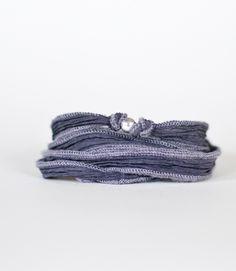 Love this silk wrap bracelet!