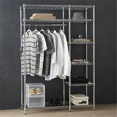 Work Closet in Closet | Crate and Barrel