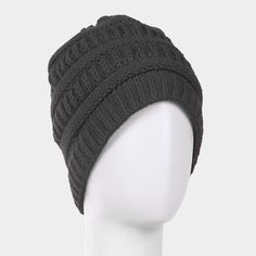 Soft Cable Knit Dark Gray Beanie Winter Warm Cap Hat Women Men Unisex Onesize #DazzledByJewels #Beanie #men #DazzledByJewels #fashion #fashionista #fashionstyle #style #styleinspiration #trend #trendy #trending #trends  # #shopping #jewelryforsale  #instyle  #trendsetter #glam #gift #giftsforher #women #teen