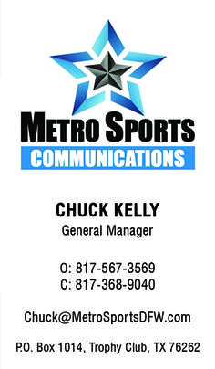 Metro Sports Communications Business Card created by Marni G Designs #MarniGDesigns #BusinessCard #BC #MetroSportsCommunications