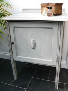 pot cupboard / bedside table