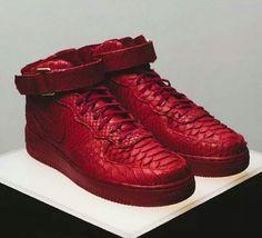 Comprar Nike Air Force 1 Mediados Pitón Roja 2014 venta barata donde puedo ordenar comprar moda barata descuento comercial KYZkZPL