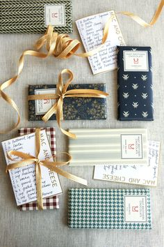 Here's an idea from Clinton Kelly: Choose your favorite dish from the party and handwrite some recipe cards for it. Bonus presentation points if you tie them together with some beautifully wrapped chocolate. - Redbook.com