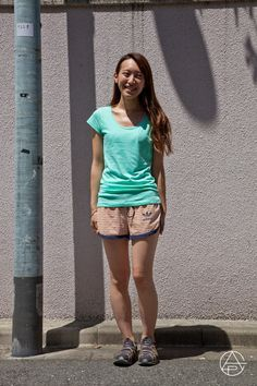 Kazumi Miyamae | gloryapparel  http://gloryapparel.jp/snaps/0021