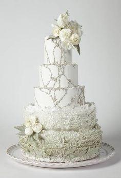 America's Prettiest Wedding Cakes - Wedding Cake Photos : Brides