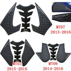 Automobiles & Motorcycles Dynamic Motorcycle 3m Anti Slip Tank Pad Side Gas Knee Grip Traction Pads Mt-03 Motorbike Accessories For Yamaha Mt-03 Mt 03 Mt03 High Quality And Inexpensive