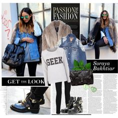 """Bloggers Style: Soraya Bakhtiar"" by nastyaafanasova on Polyvore"