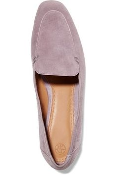 The Row - Adam Suede Loafers - Lavender - IT