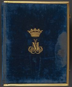 [Duc de Morny Album], Pierre-Louis Pierson (French, , et al, Albumen silver prints from glass negatives with applied color Painting On Photographs, Luxury Logo, Wedding Logos, Red Paint, Bookbinding, Coat Of Arms, Logo Design Inspiration, Book Art, Branding