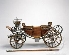 Landau carriage, mid 18th century
