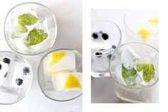 DIY vitamin ice cube