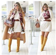 Vestindo de tricot, lindo!