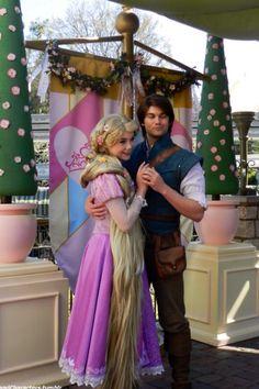 Rapunzel and Eugene live in Walt Disney World.