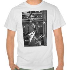 Abe Lincoln - Rock On! T-shirt