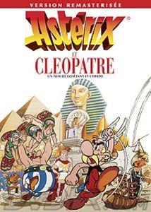 Asterix y Cleopatra: Cleopatra quiere demostrar a Julio César que los egipcios son capaces de construir mejor que los romanos y, para ello, encarga a Numerobis, el arquitecto, que proyecte un palacio y lo construya en el plazo de tres meses. Numerobis se siente incapaz de hacerlo, por lo que pide ayuda a su amigo el druida Panorámix. Este parte hacia Alejandría acompañado por Astérix y Obélix. Juntos sortearán un sinfín de peligros, visitarán la Esfinge y las Pirámides, navegarán por el…