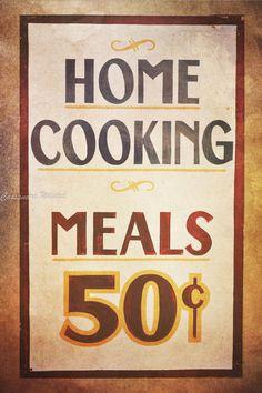 Kitchen Wall Art, Kitchen Wall Decor, Shabby Chic Home Decor, Vintage Kitchen, Rustic Kitchen, French Country Kitchen, Art Print, 16x24