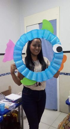 "Ocean activities: Cute photo ring for 1st day pix of your ""school"" of fish."