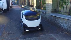 Check out how Just Eat's new delivery robot works