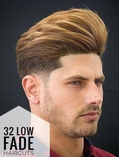 If you're thinking to get a low fade haircut and you're looking for inspiration, you came to the right place. Discover the most stylish low fade haircuts! Long Fade Haircut, Taper Fade Haircut, Low Taper Fade, Low Fade, Modern Haircuts, Haircuts For Men, Mens Hairstyles Fade, Medium Hairstyles, Wedding Hairstyles