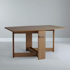 Buy Leon Pfeifer for John Lewis Croyde Drop Leaf Folding Dining Table Online at johnlewis.com