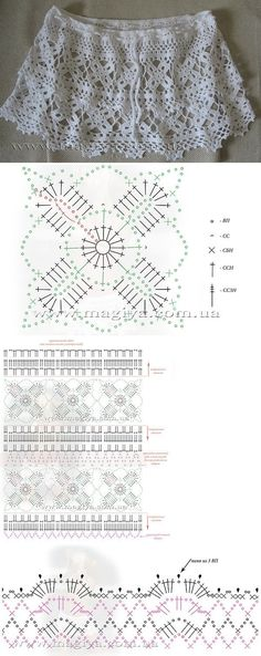 Confecções em crochê   Gráfico.