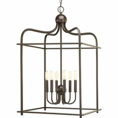 Progress Lighting Assembly Hall Antique Bronze Pendant Light Rustic Lantern Pendant Light at Lowe's. Assembly Hall provides a formal and classic open caged pendant for a variety of traditional and transitional interiors. This Design Series collection Traditional Pendant Lighting, Lantern Pendant Lighting, Pendant Lighting, Cage Chandelier, Light, Lantern Lights, Ceiling Pendant Lights, Rustic Lanterns, Ceiling Lights
