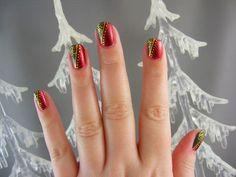 Holiday Inspired Nail Art