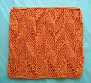 Ravelry: Kitchen Dishcloth ~ Alternating Diagonals pattern by Joan Laws