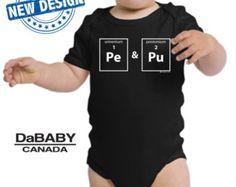Funny Baby Periodic Table Onesie TV Movie Parody Trending Onesie Geek Adorable Baby Shower Gift Cool Bodysuit One-Piece Unique Gift Unisex