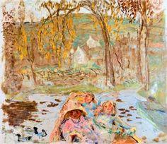 En Barque By Pierre Bonnard