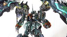 "G-system 1/72 Kshatriya ""König"".  This is absolutely cool..."