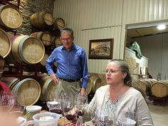 Mike McHenry and Penny Adams - Wedding Oak Winery