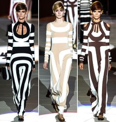 A hatvanas évek stílusát nem lehet megidézni a geometrikus minták nélkül, de Marc Jacobs szerintünk egy picit elragadtatta magát.