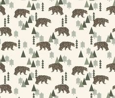 ©  Copyright  Andrea Lauren -  You are permitted to sell items you make with this fabric, but request you credit Andrea Lauren as the designer. Coordinates: Solids -- Warm, Solids - Cool, Dots  View the Entire Camping Collection