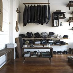 open wardrobe for everything  -  Sweet Home on tagesanzeiger.ch