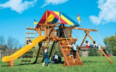 7 Best Rainbow Playsets Images Rainbow Playset Backyard