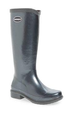 Havaianas 'Galochas Hi Metallic' Waterproof Rain Boot (Women) | Nordstrom
