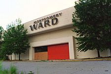 """Montgomery Ward was a well known and well shopped  mail order (the company's catalogue was known as the """"Wish Book"""") and department store retailer that operated between 1872 and 2000. #TBT #Retail"""