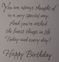 22 Ideas birthday card sayings for friends messages wish quotes Funny Happy Birthday Wishes, Birthday Wishes For Boyfriend, Friend Birthday Quotes, Happy Birthday Cards, Birthday Greetings, Humor Birthday, Happy Birthday Special Lady, Husband Birthday, 50 Birthday