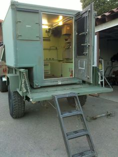 S-250 Military Shelter, Turning Camper - Page 2 - Pirate4x4.Com : 4x4 and Off-Road Forum