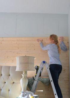 pared cubierta con madera