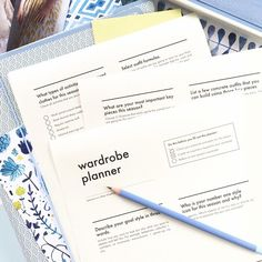 Free printable wardrobe planner, now up on the blog! Use it to upgrade your entire closet, map out a seasonal capsule wardrobe or plan your summer travel look. Link in bio!