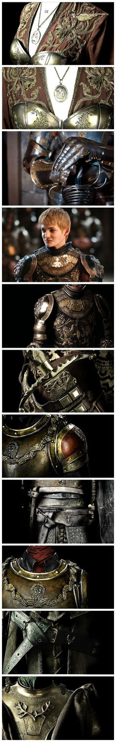 Absolutely stunning works of art! These suits of armour are super detailed and absolutely amazing!